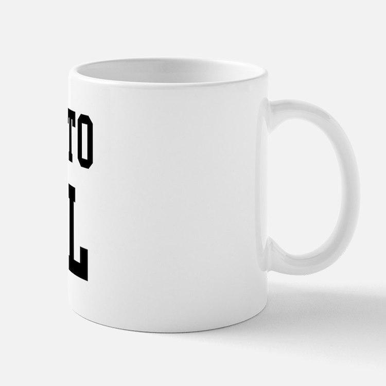Belongs to Cahill Mug