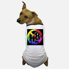 NO H8 td sqwd Dog T-Shirt