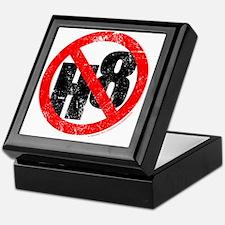 NO H8 red nb Keepsake Box