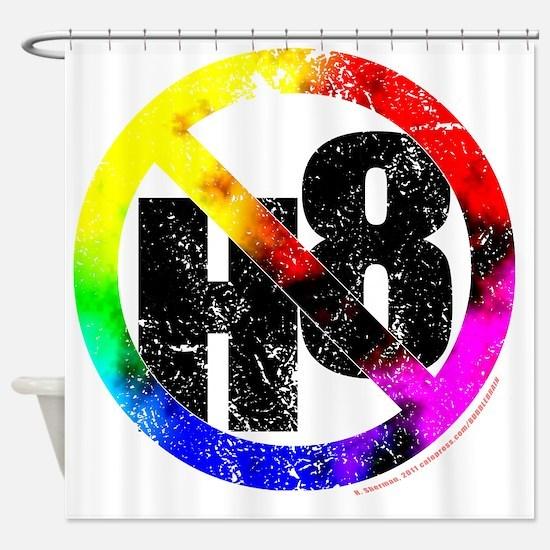 NO H8 td nb Shower Curtain