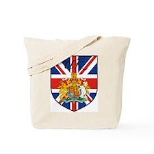 UK Flag Crest Shield Tote Bag