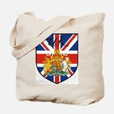 UK Flag Crest Shield Tote Bag
