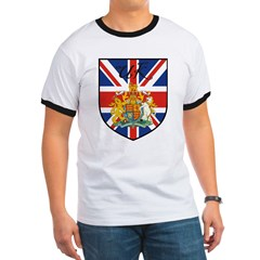 UK Flag Crest Shield T
