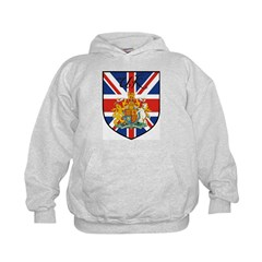 UK Flag Crest Shield Hoodie