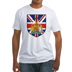 UK Flag Crest Shield Shirt