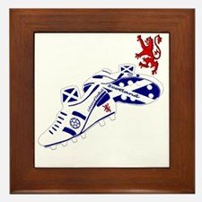 Scotland Football Lion Crest Framed Tile
