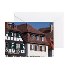 Alsace Region Greeting Card