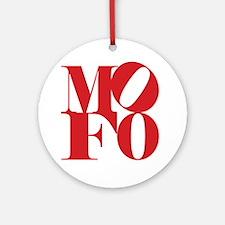 MOFO Round Ornament