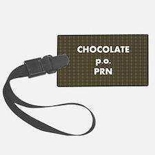 FIN-chocolate-po-prn-SHLDRBAG2 Luggage Tag