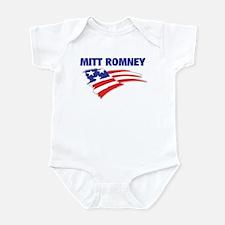 Fun Flag: MITT ROMNEY Infant Bodysuit