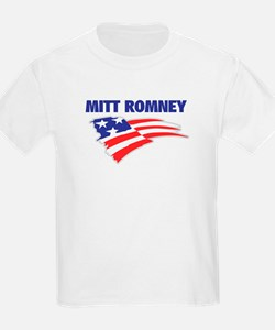 Fun Flag: MITT ROMNEY Kids T-Shirt
