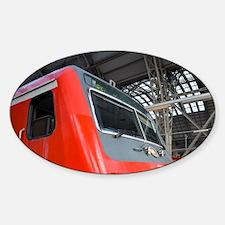 DB (Deutsches Bahn) traint am Main. Decal