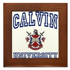 CALVIN University Framed Tile