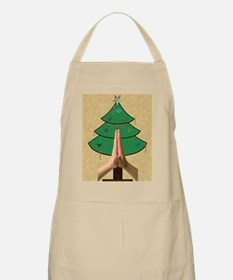 card hands of faith Xmas Tree copy Apron