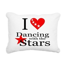 i dancing with the stars Rectangular Canvas Pillow