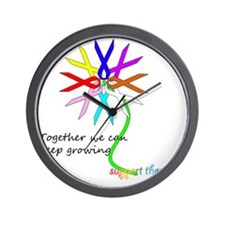 support them all Wall Clock
