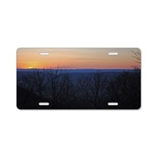 shenandoah_sunset_new Aluminum License Plate