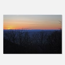 shenandoah_sunset_new Postcards (Package of 8)