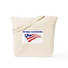 Fun Flag: MICHAEL BLOOMBERG Tote Bag
