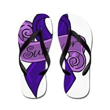 Sketch colon survivor Flip Flops