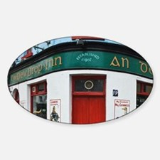 Ireland, Galway City. Exterior of T Decal