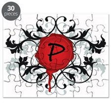 P Back - 10 inches Puzzle