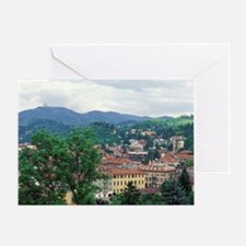 Italy, Turin. Town view Greeting Card