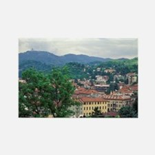 Italy, Turin. Town view Rectangle Magnet