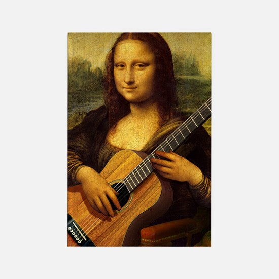 mona-guitar-LG Rectangle Magnet