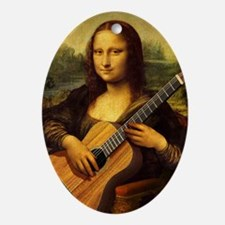 mona-guitar-LG Oval Ornament