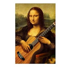mona-guitar-LG Postcards (Package of 8)