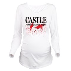 Castle_Bloody-Parano Long Sleeve Maternity T-Shirt
