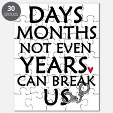 Days, Months - 10 inches Puzzle