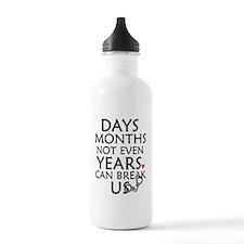 Days, Months - 10 inch Water Bottle