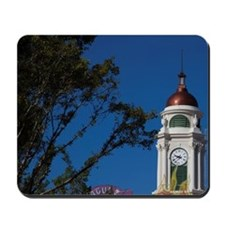 Columbus Statue and Teatro Yaguez theate Mousepad
