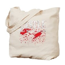 Castle_Bloody-Write_dark Tote Bag