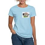 Blue Brassy Back Pair Women's Light T-Shirt