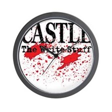 Castle_Bloody-Write_lite Wall Clock