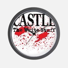 Castle_Bloody-Write_lite Wall Clock
