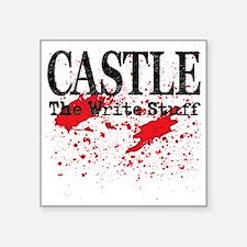 """Castle_Bloody-Write_lite Square Sticker 3"""" x 3"""""""