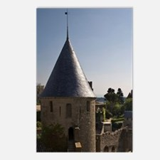 Castle and outer wall, Ca Postcards (Package of 8)