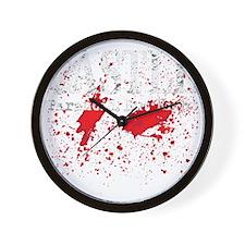 Castle_Bloody-ParanoidRight_dark Wall Clock