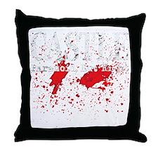Castle_Bloody-ParanoidRight_dark Throw Pillow
