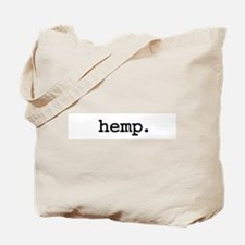 hemp. Tote Bag