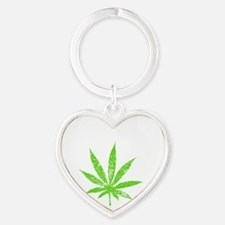 Legalize -dk Heart Keychain