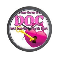DOC Heart - 10 inches Wall Clock