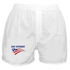 Fun Flag: JON STEWART Boxer Shorts