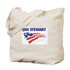 Fun Flag: JON STEWART Tote Bag