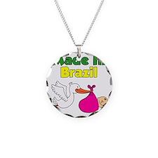 Made In Brazil Girl Necklace