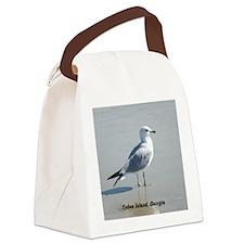 001abc Canvas Lunch Bag